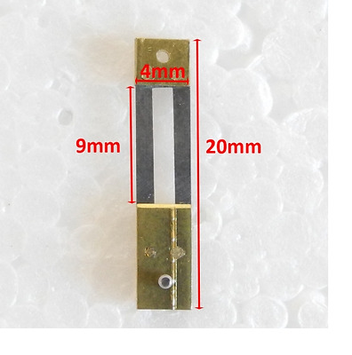 CLOCK SUSPENSION SPRING TOP QUALITY STEEL BRASS 20mm x 4mm x 9mm PARTS - CS58128