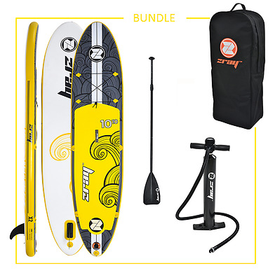 INFLATABLE STAND UP PADDLE BOARD ISUP ZRAY X2 10f10