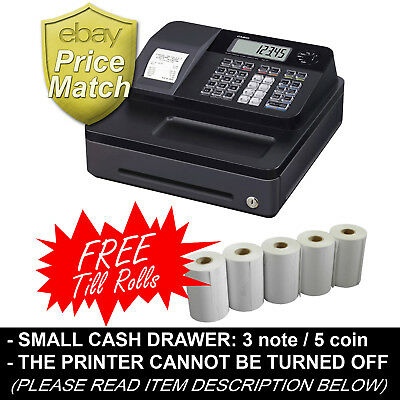 Casio Se-G1 Small Drawer Cash Register Casio Seg1 With Free Se-G1 Till Rolls