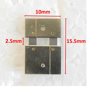 CLOCK SUSPENSION SPRING TOP QUALITY STEEL 15.5mm x 2.5mm x 10mm PARTS - CS5819