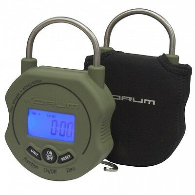 Korum Digital Fishing Scales + Carry Case Battery Inc 85Lb / 45Kg Kscale/01