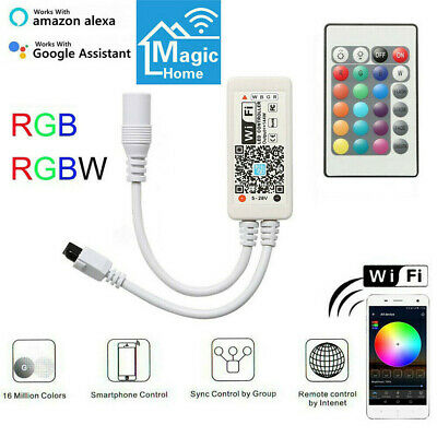 DC5-28V Mini WiFi RGB/RGBW Controller MIC Music Control for 5050 LED Strip light