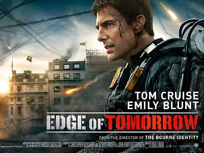 A4 Edge of Tomorrow  **DISCOUNTED OFFERS**  A3 Movie Poster Print