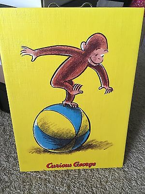 "Curious George Wall Hang 10"" x 14"" 2005"