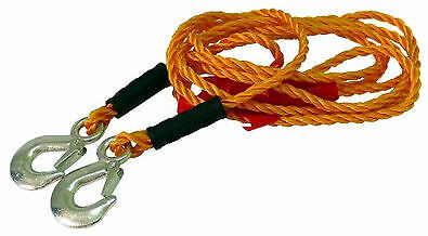 Light Duty 1 Tonne 4m 1000kg Tow Rope Pull Car Towing Vehicle Road Recovery