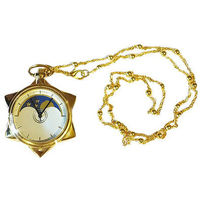 Sailor Moon Taschenuhr Kristall cosplay Necklace Halskette Crystal Star Geschenk