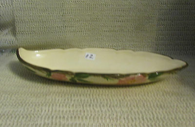 "#2.. FRANCISCAN DESERT ROSE.. 11"" x 4.5"" OVAL CELERY RELISH TRAY DISH"
