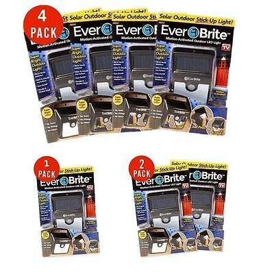 Ever Brite Led Outdoor Light-AS ON TV Everbrite Solar Powered & Wireless