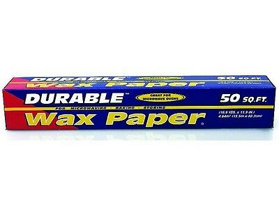 Durable Wax Paper, 50 Square Feet, 24ct 074729750508S2203