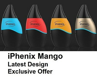 Electronic e Shisha iPhenix iMango Kit Battery MOD USB e Cigarette LATEST MODEL