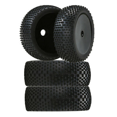 1/8th Buggy On-road Wheels & Tyres Street Black 1:8 Scale for HSP Redcat FS