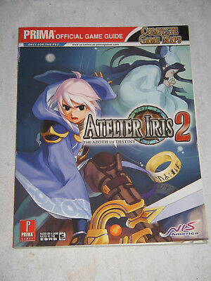 Official Game Guide ATELIER IRIS 2 - THE AZOTH OF DESTINY  ~ NEU! ~ Lösungsbuch