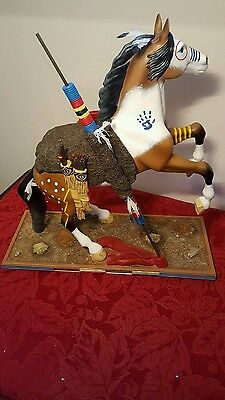 """Trail of Painted Ponies War Cry Masterpiece Collection 15"""" 4018412 1E/0,224"""