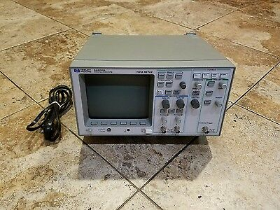 HP Agilent 54600B 100MHz 2 Channel Digital Oscilloscope FREE SHIPPING