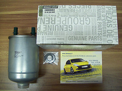 Genuine Renault Megane 3 1.5 Diesel Fuel Filter - 164009384R