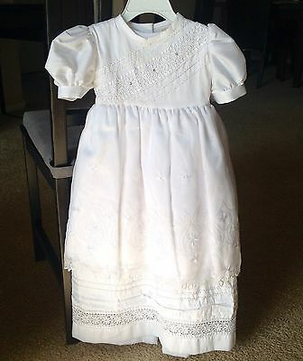 Baptism Christening Gown Baby Girl 6-12 months