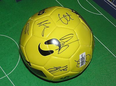 Hull City AFC 2015/16 Season Promotion Squad Signed Ball 12 Autographs!