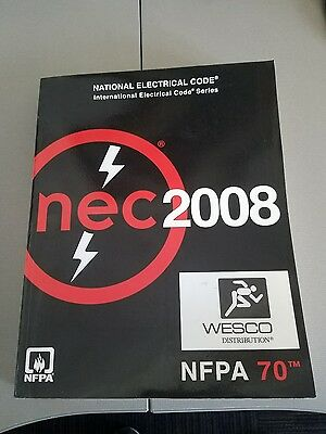 NEC NFPA 70 National Electrical Code book 2008 light use