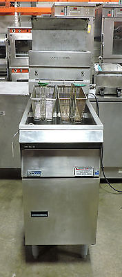 Pitco  SG14S Commercial 50LB Tube Fired Gas Fryer