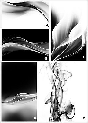 Black White Abstract Morden Wall Art On Canvas Prints Poster Unframed Picture