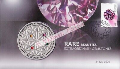 PNC Australia 2017 Rare Beauties Extraordinary Gemstones Medallion L/E 3500