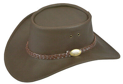Jacaru water repellent Buffalo waxed Leather hat Horse riding camping hunting