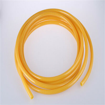 12mm*8mm Yellow Compressor PU Hose Pipe Tube Fuel Gas Air Pneumatic 2M