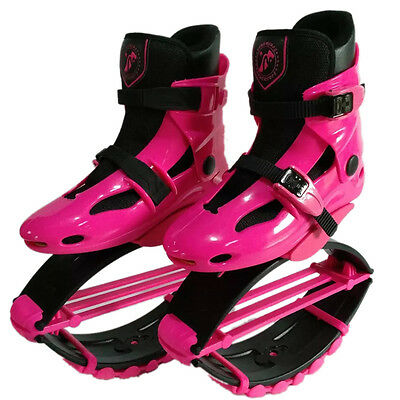 Unisex Kangoo Jumps Shoes Bodybuilding Jumping Sneaker Fitness Bounce Shoes Pink