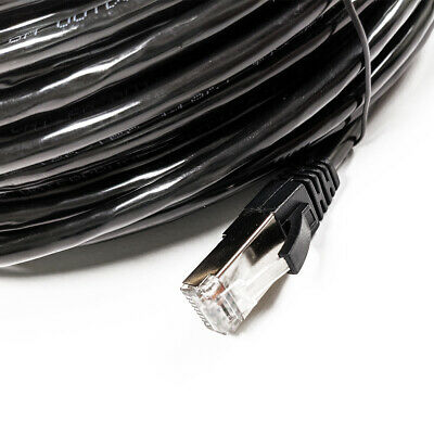 Pre Made High Quality Outdoor Cat6A Shielded/waterproof UV Rated Cable