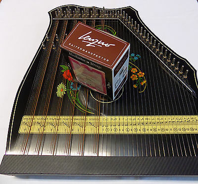 Guitarzitherstrings Complete set for 41-string Guitarzither / Zitherstrings Set