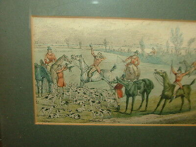 An old hunting print from book p57. Osbaldeston famous huntsman(saying) 19thC?