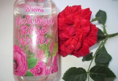LEMA PURE 100% Natural Bulgarian ROSE WATER Cleanser Moisturizer Tonic 250 ml