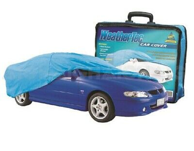 Car Cover Suits Small Sedans to 4.06m WeatherTec UV Protection Soft Non Scratch