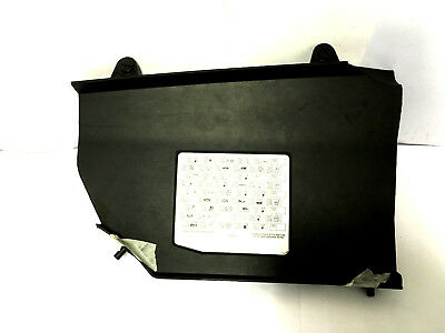 Rover 75 MG ZT Passenger compartment Fuse box cover with fuse ID label YQS000340