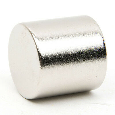 Super Strong Round Circular Cylinder Magnet Rare Earth Neodymium 30 x 30 mm N52