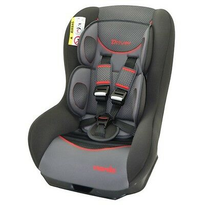 Nania Driver Group 0+ - 1 Recliner Baby Car Seat Graphic Red