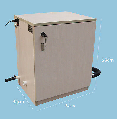 Dental Portable Wooden Vacuum Suction Unit System 1500L/min F/ 3PC Dental Chair