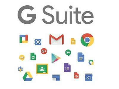 G Suite For Business / Google Apps Unlimited Drive Storage Free License 50 Users