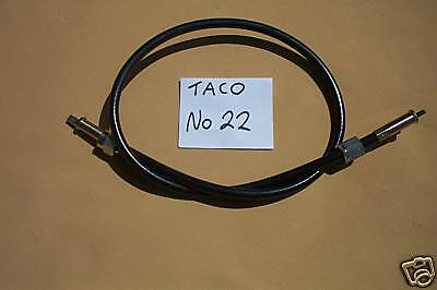 TRIUMPH T120 1971 on rev counter (taco) cable  new in sealed bag