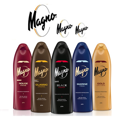 Magno Shower Gel 4 different Types (Pick Yours)