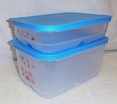 TUPPERWARE new release COOL MATES SET fridge storage for meat, poultry & fish