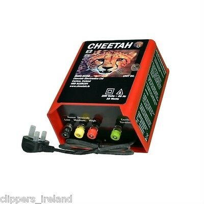 Cheetah Super Electric Fence (Mains Fencer)