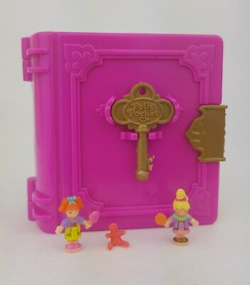 Vintage  Polly Pocket  Sweet Treat Shoppe Book Compact 1996 key