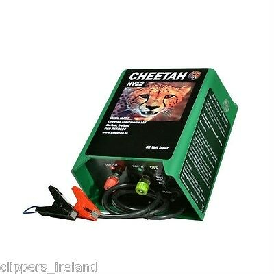 Cheetah HV12 Electric Fence (Battery Fencer)