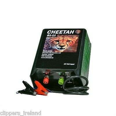Cheetah B1-11 Electric Fence (Battery Fencer)