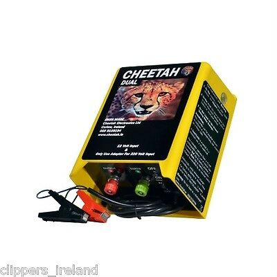 Cheetah Dual Electric Fence (Battery Fencer, Strip Grazer, Mains Fencer)