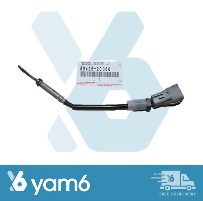 Genuine New Toyota Exhaust Gas Temperature Lamba Sensor 89425-20360