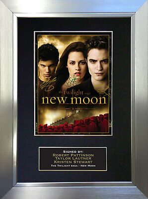 TWILIGHT NEW MOON X 3 Signed Autograph Mounted Reproduction Photo A4 Print 28