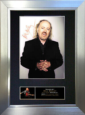 BILL BAILEY Signed Autograph Mounted Reproduction Photo A4 Print 109