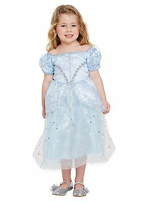 Lost Shoe Princess Toddler Girls Fancy Fairy Dress World Book Day Week Costume
